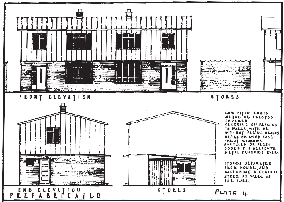 Prefabricated house, 1945-1950
